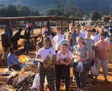 Malawi 2017 Students at Market