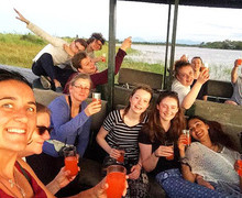 Malawi Expedition 2017 Enjoying Boat Trip