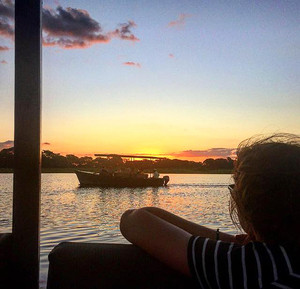 Enjoying the Sunset Malawi 2017