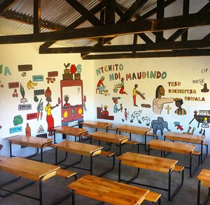 Malawi Classroom after