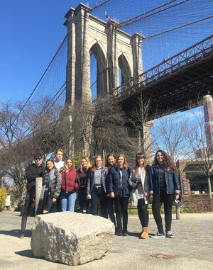 Sixth Form Art Trip to New York 2017