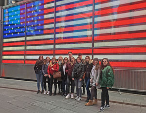 Sixth Form Students on Art Trip to New York