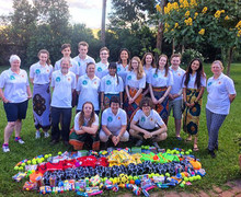 Malawi 2017 Team with Gifts for School