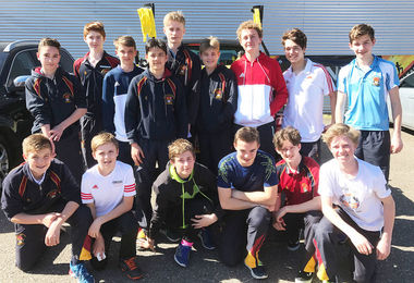 Boys on Boys' Hockey Tour to Cologne April 2017