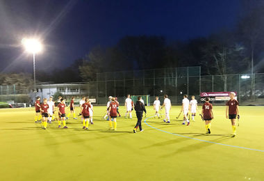 Early Evening Match on Boys' Hockey Tour to Cologne April 17