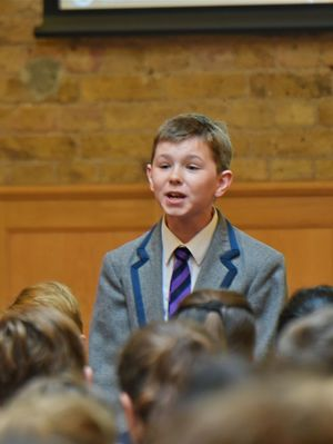 Prep School L3 & U3 Poetry Declamation Event