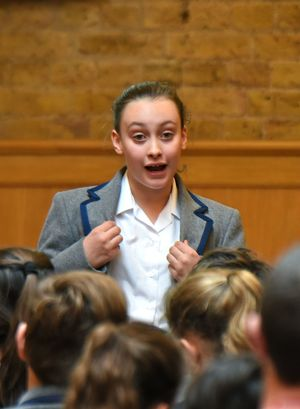 Prep School Pupil in L3 & U3 Poetry Declamation
