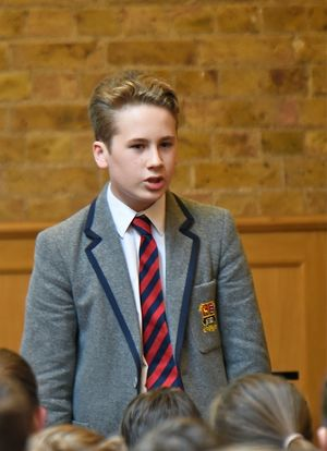 L3 & U3 Poetry Declamation Competition in Prep School 2017