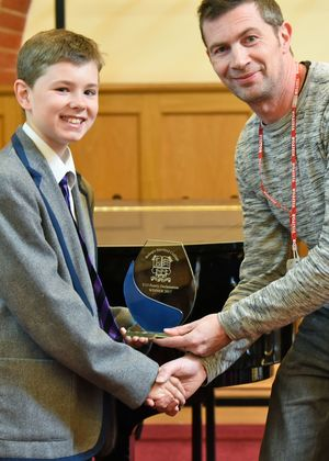 Henry Wilson Winner of Prep School Poetry Declamation