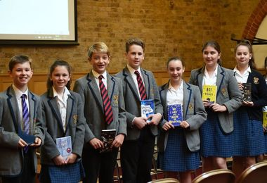 Julian Sedgwick Judges Poetry Competition