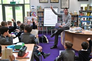 Julian Sedgwick Hosting Prep School Book Club