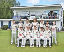 1st XI Team before MCC Match