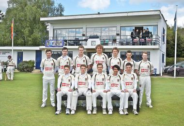 1st XI Match v MCC - Won by 4 Wickets
