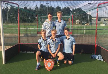 College Pupils Help Clinch Hockey Championship