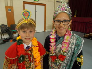 Prep School Pupils at Form 2 Buddhist Workshop