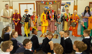 Pupils Dressed Up Form 2 Buddhist Workshop