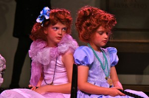 Prep School Drama Girls in Costume