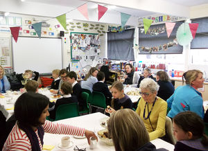 F1 & 2 Tea Party for Parents & Grandparents