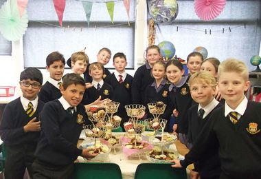 Forms 1 and 2 Serve Up Afternoon Tea