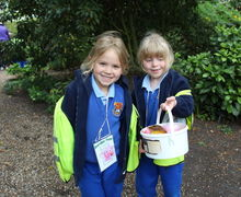 Year 1 Girls with Nature Collection Hyde Hall