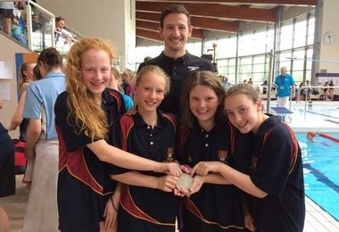 Swimmers in IAPS National Championship Finals