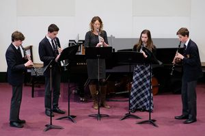 Senior School Clarinettists Chamber Music Concert 2017