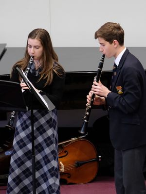 Senior School Clarinet Players Chamber Concert 17