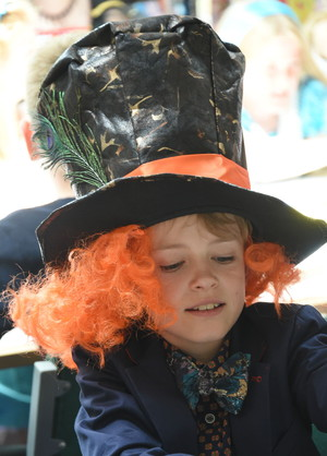 Prep School Pupil in Costume