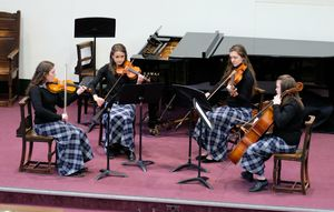 String Ensemble in Chamber Music Concert 17