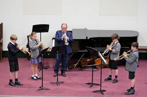 Prep School Brass Ensemble Chamber Concert 2017