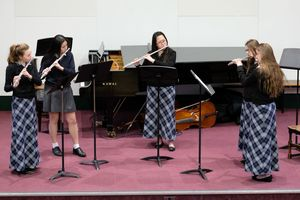 Senior School Flute Ensemble Chamber Concert 2017