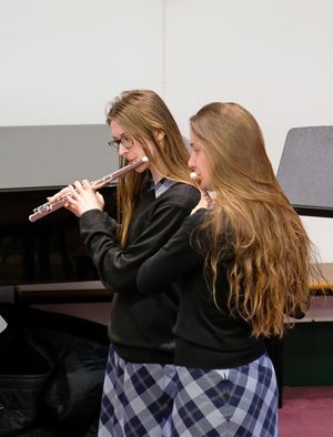 Senior School Flautists Chamber Concert May 2017