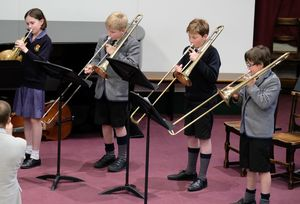 Prep School Brass Ensemble Chamber Concert 17