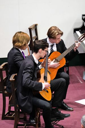 Guitars in Chamber Music Concert May 2017