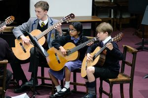 Prep School Guitars in Chamber Music Concert May 2017