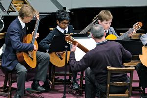 Guitar Ensemble in Chamber Music Concert May 17
