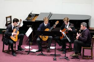 Senior School Guitarists in Chamber Music Concert