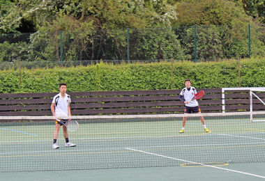 U19 Boys Tennis Match v St Albans