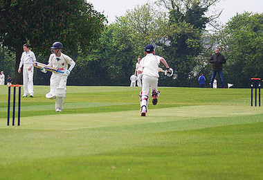 First Century for Prep School Cricketer