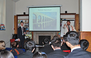 Presentation by pure structures to l6