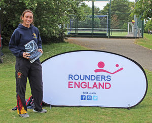 Senior School Pupil with Rounders Award
