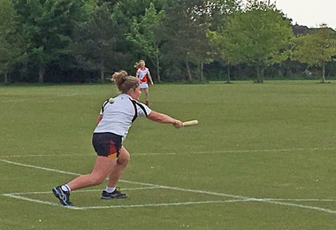 Senior School Teams Face England Rounders