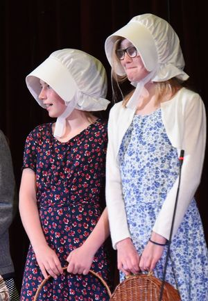 Form 2 Girls in Wind in the Willows