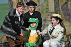 Form 2 Performing Wind in the Willows 2017