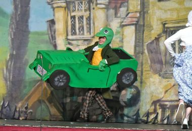 Green Car in Wind in the Willows Form 2