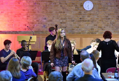 Senior School Band Night in FLT May 2017