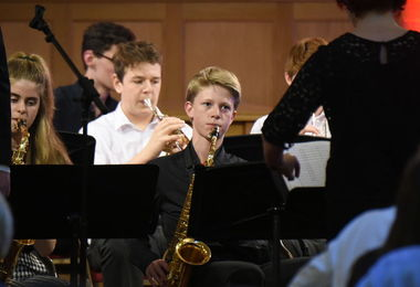 Senior School Musicians Perform at Band Night