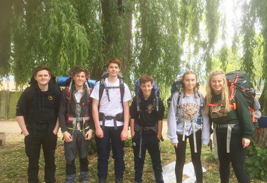 L5th Complete DofE Bronze Practice Expedition