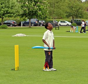 Upper Shell Boy Batting Charlotte Edwards Coaching