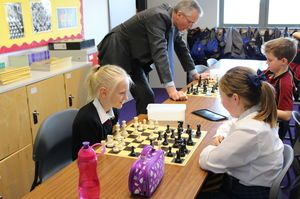 Prep School Chess Activity